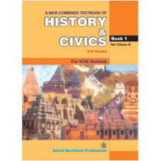 A New Combined Text Book Of History & Civics For Class 6