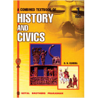 A Combined Text Book Of History & Civics Book 1 For Class 6