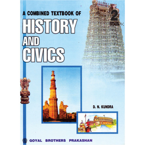 A Combined Text Book Of History & Civics Book 2 For Class 7