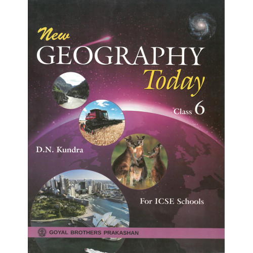 New Geography Today Book 1 For Class 6