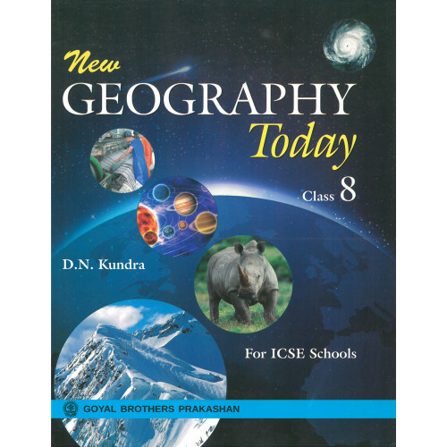 New Geography Today Book 3 For Class 8