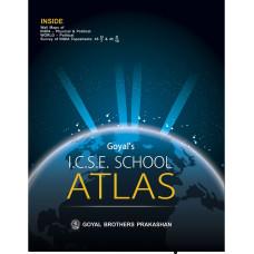 Goyals ICSE School Atlas (Based On The Latest ICSE Syllabus)