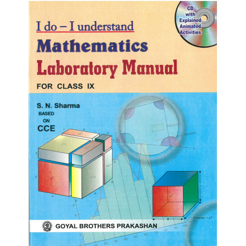 I Do I Understand Mathematics Laboratory Manual For Class IX (With Online Support)