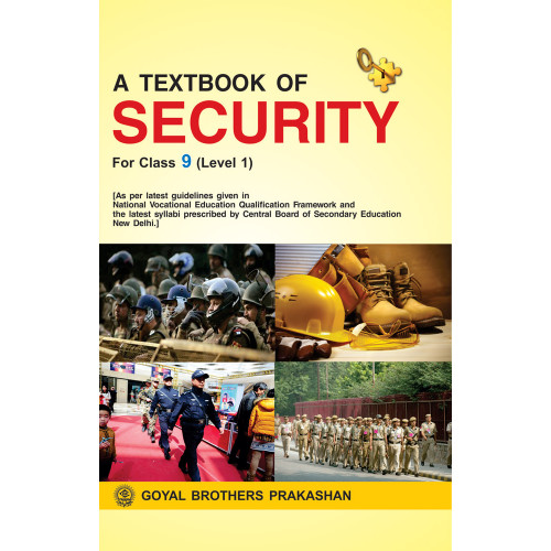 A Textbook Of Security For Class IX Level 1