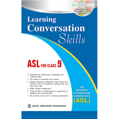 Advanced Conversation Skills (Asl) For Class XI (With Online Support)