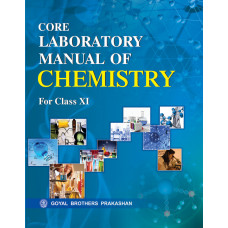 Core Laboratory Manual Of Chemistry For Class XI