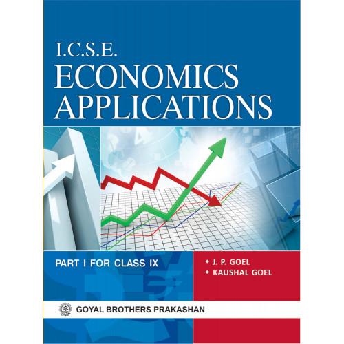 ICSE Economics Applications For Class IX