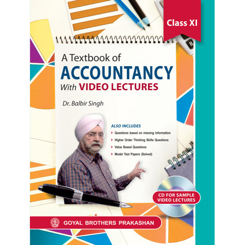 A Textbook Of Accountancy With Video Lectures For Class XI