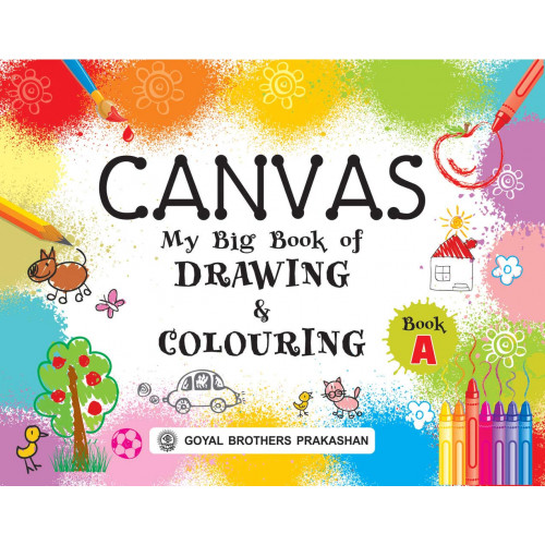 Canvas My Big Book Of Drawing & Colouring Book A