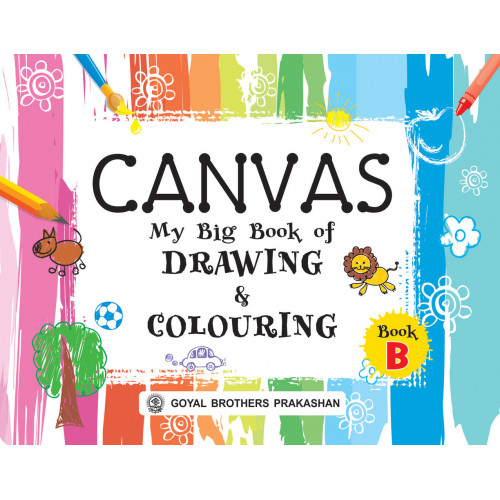 Canvas My Big Book Of Drawing & Colouring Book B