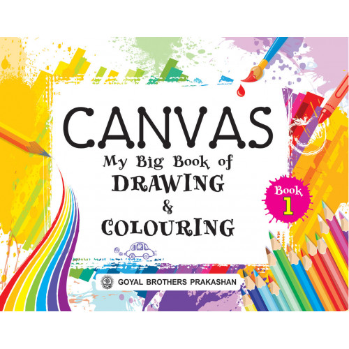 Canvas My Big Book Of Drawing & Colouring Book 1