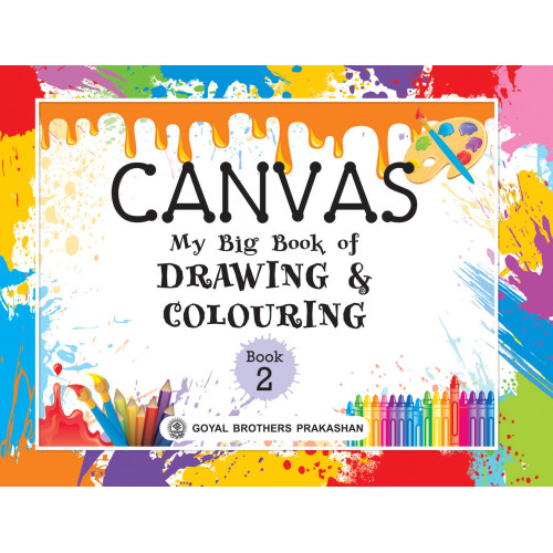 Canvas My Big Book Of Drawing & Colouring Book 2