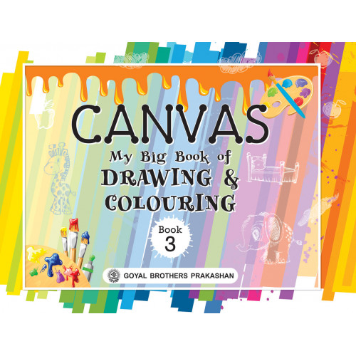 Canvas My Big Book Of Drawing & Colouring Book 3