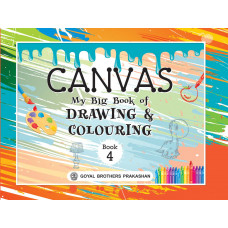 Canvas My Big Book Of Drawing & Colouring Book 4