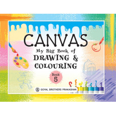 Canvas My Big Book Of Drawing & Colouring Book 5