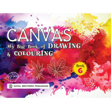 Canvas My Big Book Of Drawing & Colouring Book 6