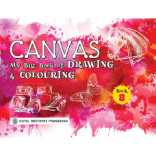 Canvas My Big Book Of Drawing & Colouring Book 8