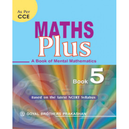 Maths Plus A Book Of Mental Mathematics For Class 5