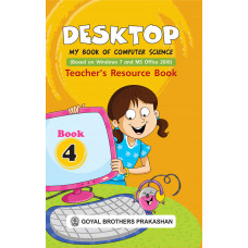 Desktop My Book Of Computer Science Teachers Resource Book 4