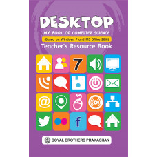 Desktop My Book Of Computer Science Teachers Resource Book 7