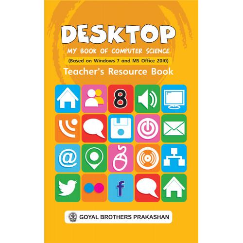 Desktop My Book Of Computer Science Teachers Resource Book 8