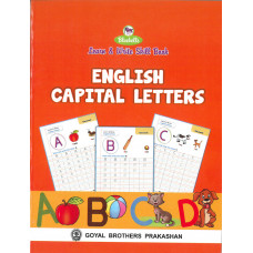 Learn and Write Skill Book English Capital Letters