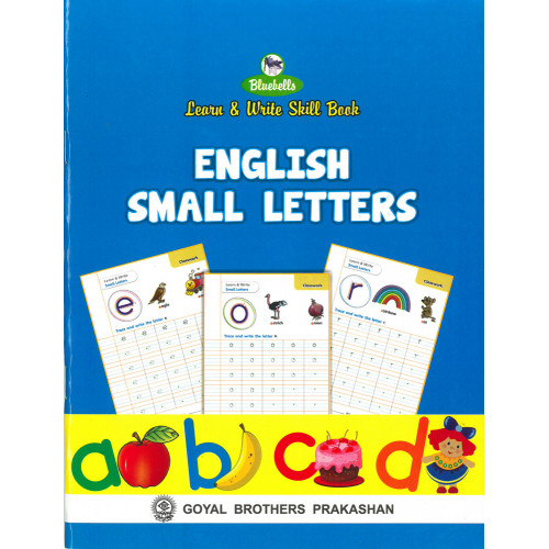Learn and Write Skill Book English Small Letters