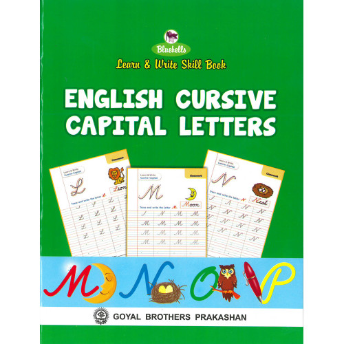 Learn and Write Skill Book English Cursive Capital Letters