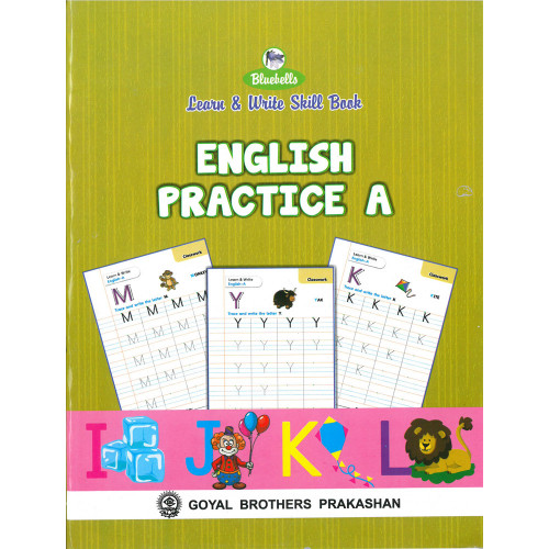 Learn and Write Skill Book English Practice A