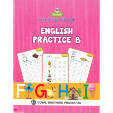 Learn and Write Skill Book English Practice B