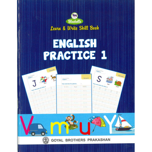 Learn and Write Skill Book English Practice 1