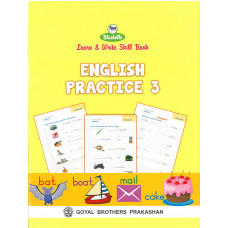 Learn and Write Skill Book English Practice 3