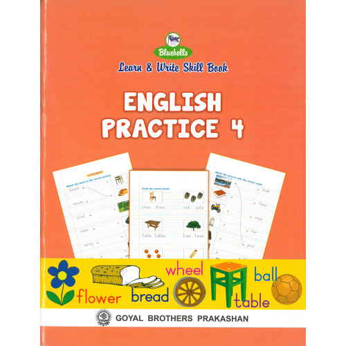 Learn and Write Skill Book English Practice 4