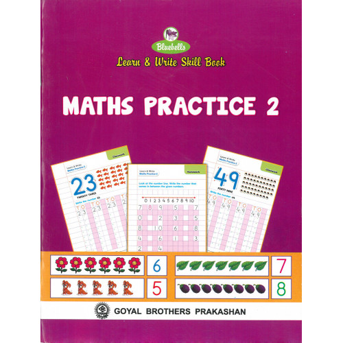 Learn & Write Skill Book Maths Practice 2