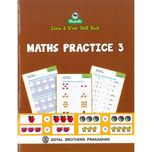 Learn & Write Skill Book Maths Practice 3