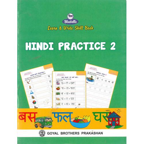Learn & Write Skill Book Hindi Practice 2