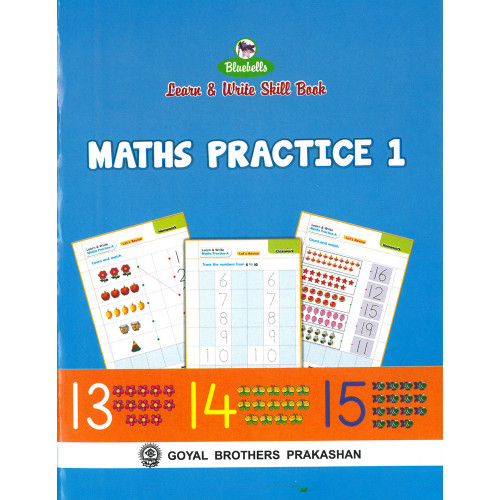 Learn & Write Skill Book Maths Practice 1