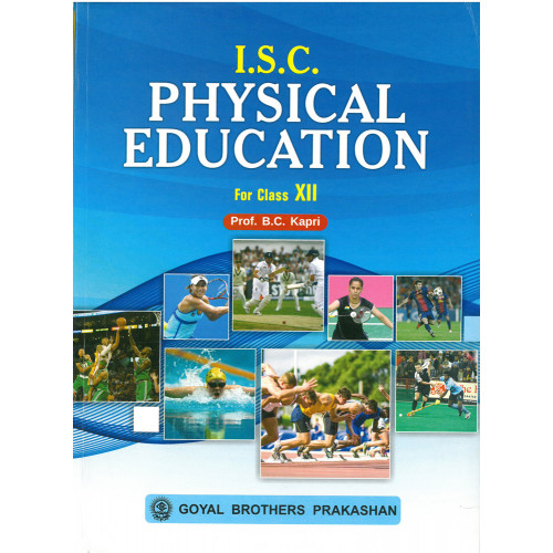 ISC Physical Education For Class 12