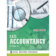 ISC Accountancy For Class XI