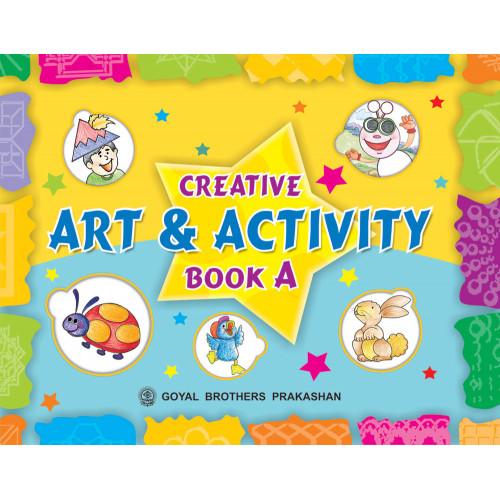 Creative Art And Activity Book A