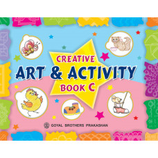 Creative Art And Activity Book C