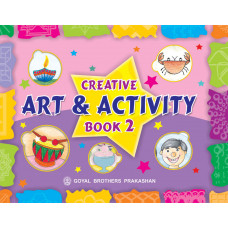 Creative Art And Activity Book 2 (With Online Support)
