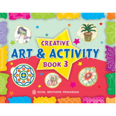 Creative Art And Activity Book 3 (With CD)