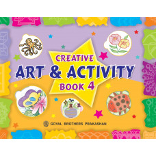 Creative Art And Activity Book 4 (With CD)