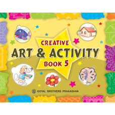 Creative Art And Activity Book 5 (With CD)