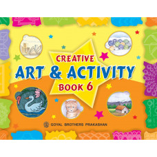 Creative Art And Activity Book 6