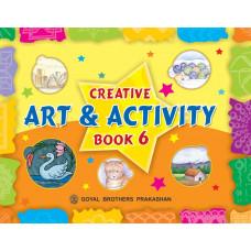 Creative Art And Activity Book 6