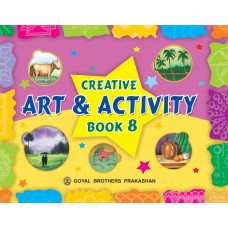 Creative Art And Activity Book 8