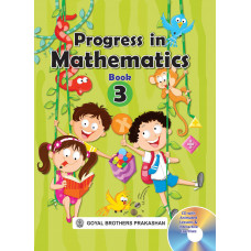 Progress In Mathematics Book 3 (With CD)