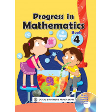 Progress In Mathematics Book 4 (With CD)